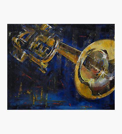 Trumpet Photographic Print