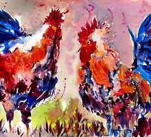 Rooster Rumble by johndunn