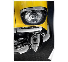 Chevy Belair front in,in two tone Poster