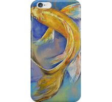 Orenji Butterfly Koi iPhone Case/Skin