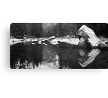 Merced River Panorama Canvas Print