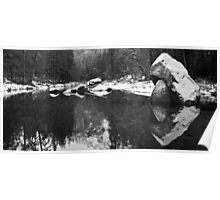 Merced River Panorama Poster