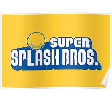 Super Splash Bros Poster