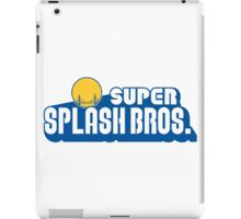 Super Splash Bros iPad Case/Skin