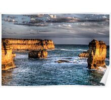 Shipwreck Coast - Great Ocean Road , Victoria Australia - The HDR Experience Poster