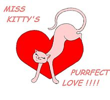 Miss Kitty's Purrfect Love by redqueenself
