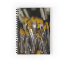 Paint brushes Spiral Notebook