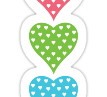 All my Hearts Sticker