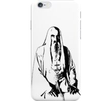 Saruman Outline Print Design iPhone Case/Skin