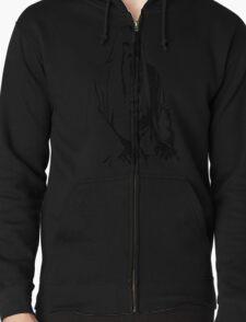 Saruman Outline Print Design T-Shirt