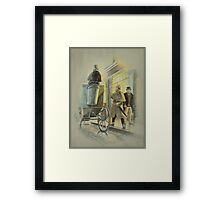Holmes at the Northumberland Framed Print