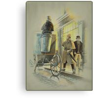 Holmes at the Northumberland Canvas Print