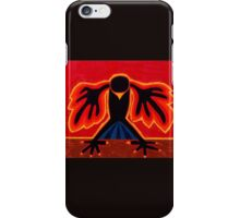 Crow Rising original painting iPhone Case/Skin