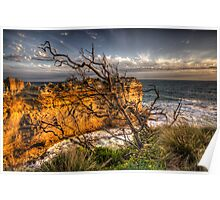 Reach For The Sky - Great Ocean Road - The HDR Experience Poster