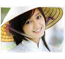 Vietnamese Girl Poster