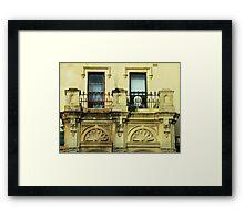 Crown Street Framed Print