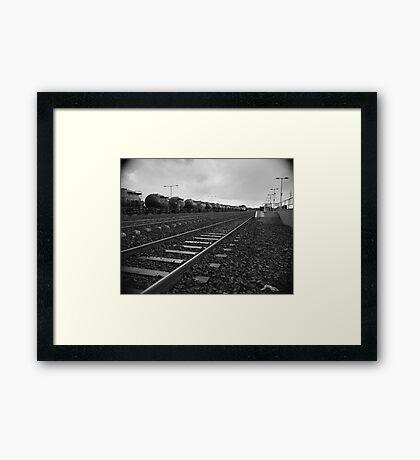 Limerick Junction Framed Print