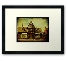 """Dragon House"" - 1905 Framed Print"