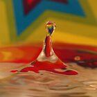 Rainbow star by Judith Cahill