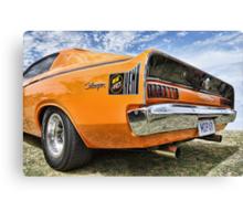 Orange Charger 6 Pack Hemi Canvas Print