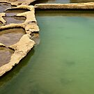 Saltpans Abstract - Landscape by PhotoWorks