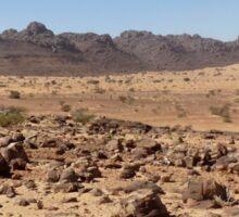 an awesome Mauritania landscape Sticker