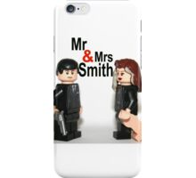 Lego Mr & Mrs Smith iPhone Case/Skin