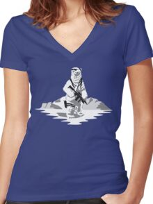 Snow Patrol Women's Fitted V-Neck T-Shirt
