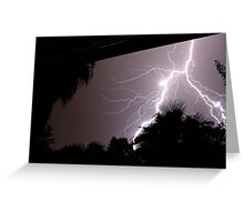 African Thunder Greeting Card
