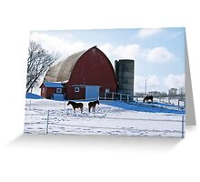 Winter in Wisconsin Greeting Card