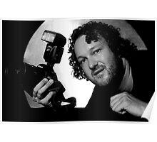 Self-Portrait - Me... Nikon Man Poster