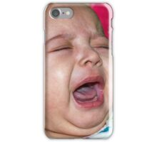 Two months old baby girl iPhone Case/Skin