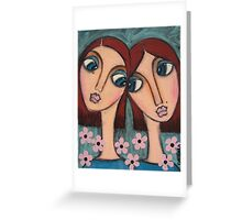 A Sisters love Greeting Card
