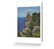 Watch Tower, Mallorca Greeting Card