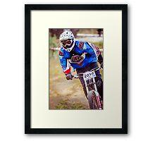 Downhill Stare Framed Print