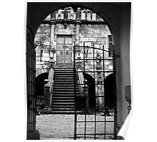 Castle Gates Poster