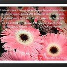 """I Believe in Pink""... by Deb  Badt-Covell"