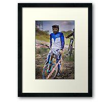 Focused Framed Print