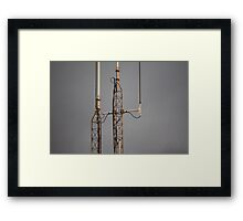 Towers at Dusk Framed Print