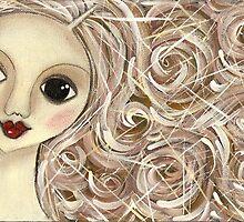 Brownhair doll by Barbara Cannon  ART.. AKA Barbieville