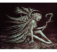 Feather-Fae Photographic Print