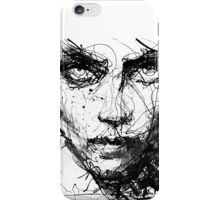 Face Abstract Cool iPhone Case/Skin