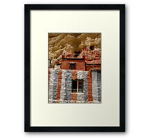 Cave Temple, Upper Mustang, Nepal Framed Print