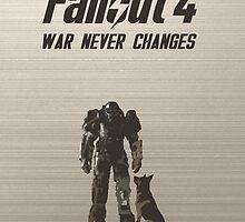 Fallout 4 Power Armor - War Never Changes by BinaryAtlas