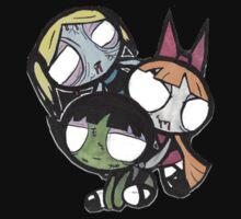 Monsterpuff Ghouls Kids Tee