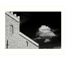 Cathedral & Cloud Art Print