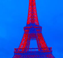 Eiffel Tower - 4th in a series by William Gordon