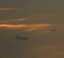 Ships in the Sky by JohnGo