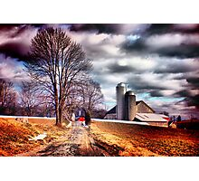 The Road to Farmville Photographic Print