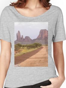 a desolate Mali landscape Women's Relaxed Fit T-Shirt